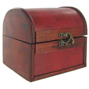 Small Domed Trunk Box
